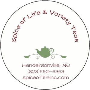 Spice Of Life And Variety Tea Logo Large Round