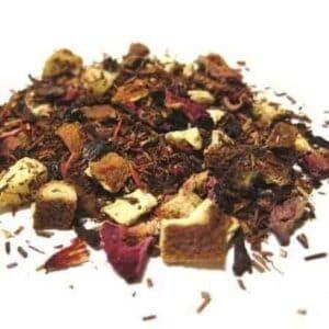 Loose Leaf Red Rooibos Tea Called Blood Orange Smoothie
