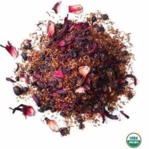 Organic Blueberry Rooibos Tea With Elderberries