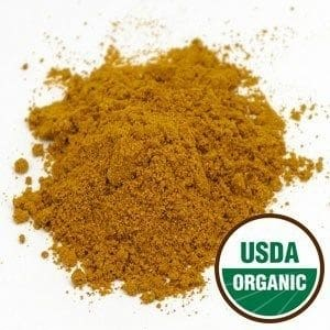 Organic Yellow Indian Curry Hot