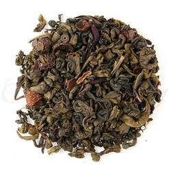 Pomegranate Hibiscus Green Tea